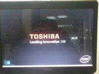 l300 toshiba welcome screen