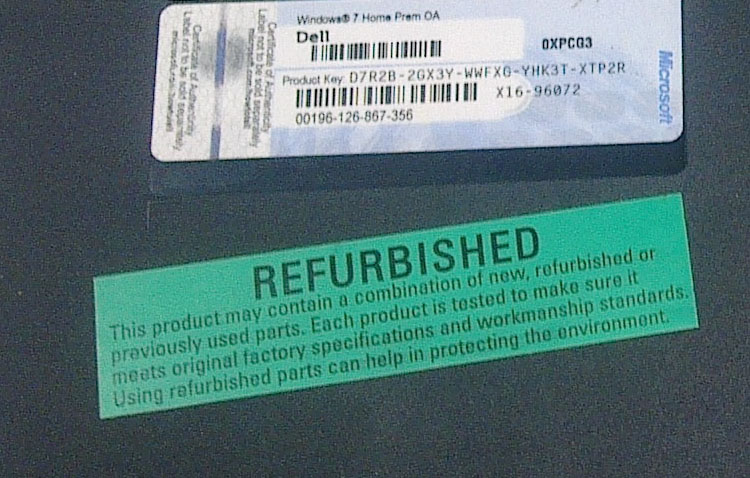 refurbished-Recondition