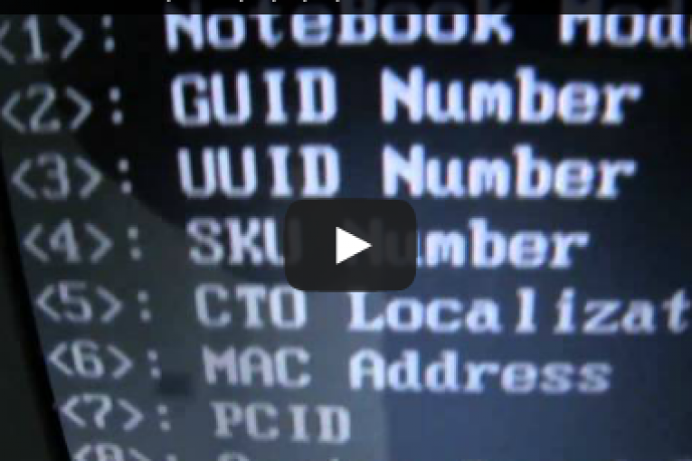فيديو : حل مشكلة Serial Number Not Found Hp ,Compaq Laptop