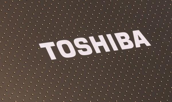 toshiba logo on its netbook 600x355 حل مشكلة الريستارت والخطوط التى تظهر فى شاشة اللاب توب Toshiba Satellite L655 L750 L755 L700 L745