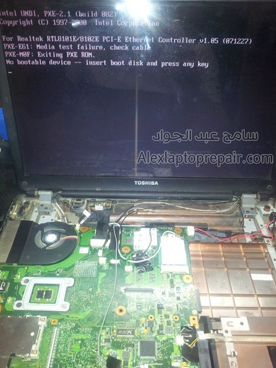Toshiba satellite l300 no display6