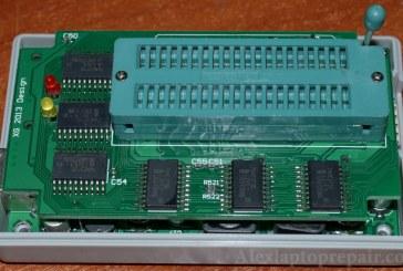 أخر تحديث لدائرة شحن البايوس Minipro وحل مشكلة الشرائح الجديدة w25q64fv