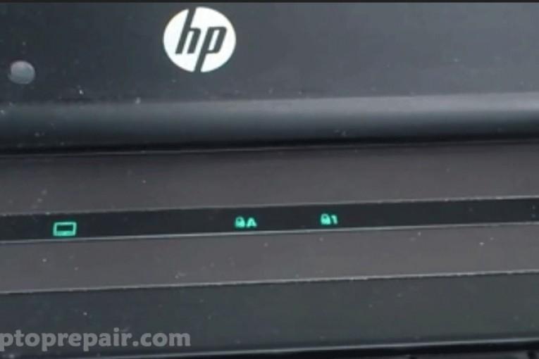 شرح خاص باعطال وميض اجهزة اتش بي  Hp laptop blink LED light of Caps Lock or Num Lock