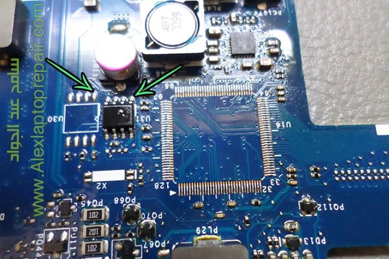 إصلاح عطل باور فى لاب توب – Acer i5 Aspire 5742-5733 laptop no power signs