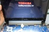 لاب توب توشيبا يعمل لـ 10 ثواني ولا يعرض Toshiba Satellite U940/U945 VCUAA LA-9161P 10F/10FG CPU-GPU Core