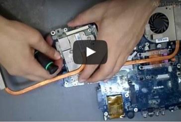 إصلاح عطل كارت الشاشة لاب توب توشيبا how to fix graphics card on laptop