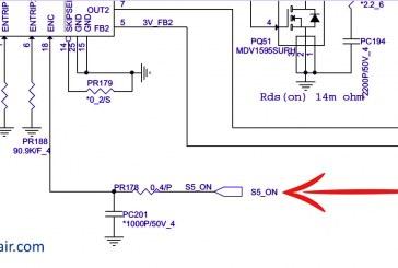 حل عطل الباور فى جهاز لاب توب HP Pavilion 15-nxxx i7 won't turn on