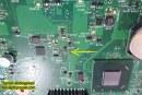 حل عطل ومشكلة الباور فى جهاز لاب توب – Toshiba Sattelite C855 DK10F No power