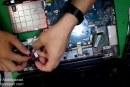 Toshiba Satallite L500 laptop disassemble For beginners – للمبتدأين فك لاب توب توشيبا