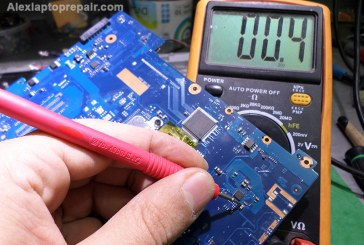 عطل باور فى لاب توب سامسونج – Samsung NP-RV511 no power or charging LED lights